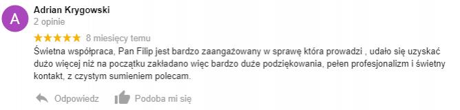 Adrian Krygowski - opinia
