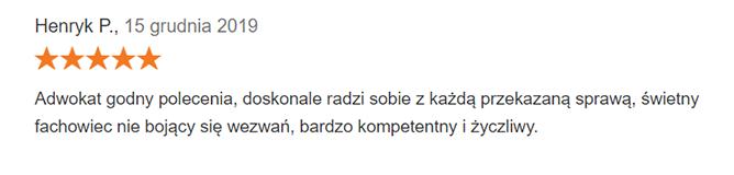 henryk p. - opinia