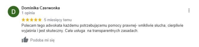 D. Czerwonka - opinia